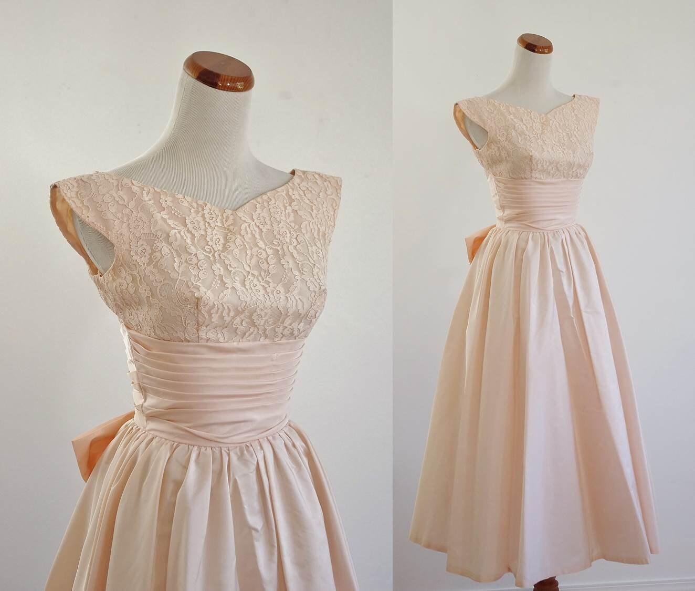 Vintage 50s Prom Dress...