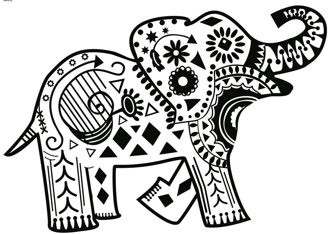 Tribal Elephant Background Images amp Pictures Becuo