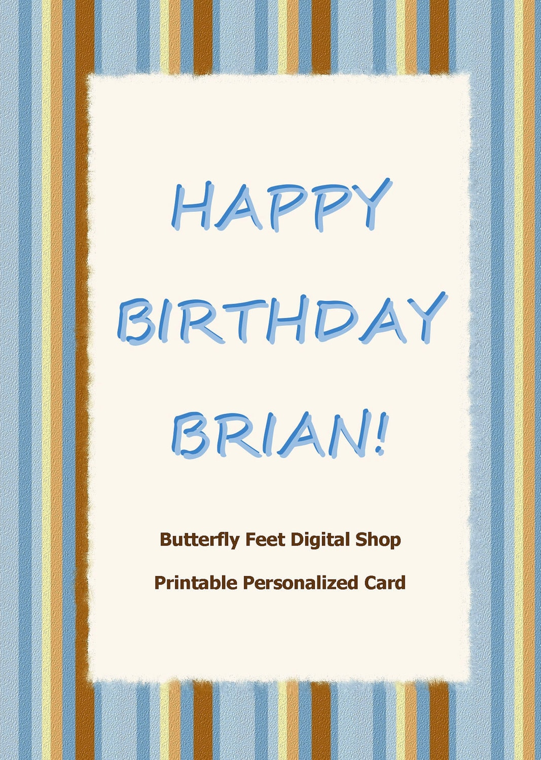 Happy Birthday Cards For Men To Print – Birthday Cards for Man
