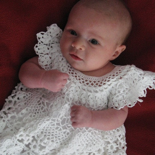 How To Crochet Baby Dress Pattern : 301 Moved Permanently