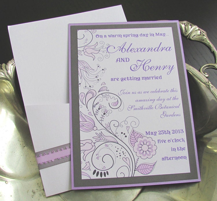 Beautiful wedding invite packs my wife loves anal for Wedding invitations packs of 100