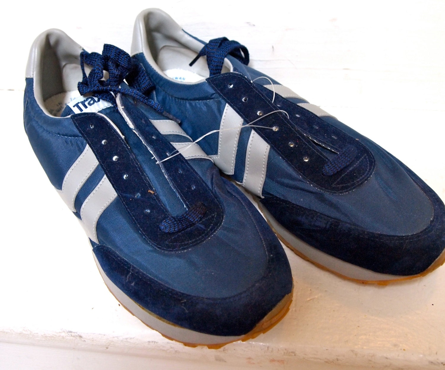 Items Similar To Men S Vintage Athletic Shoes Navy K Mart