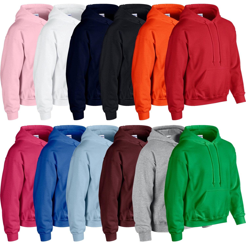 Mens Plain Hoodie Plain Hoodie Blank Pullover Cheap Hoodie Mens Womens Boys Girls Hooded Sweatshirt Brand New Hoodie Hoody Sweat Top