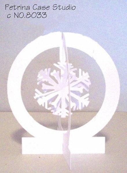 Snowflake Pop-Up Globe -ITEM 8033