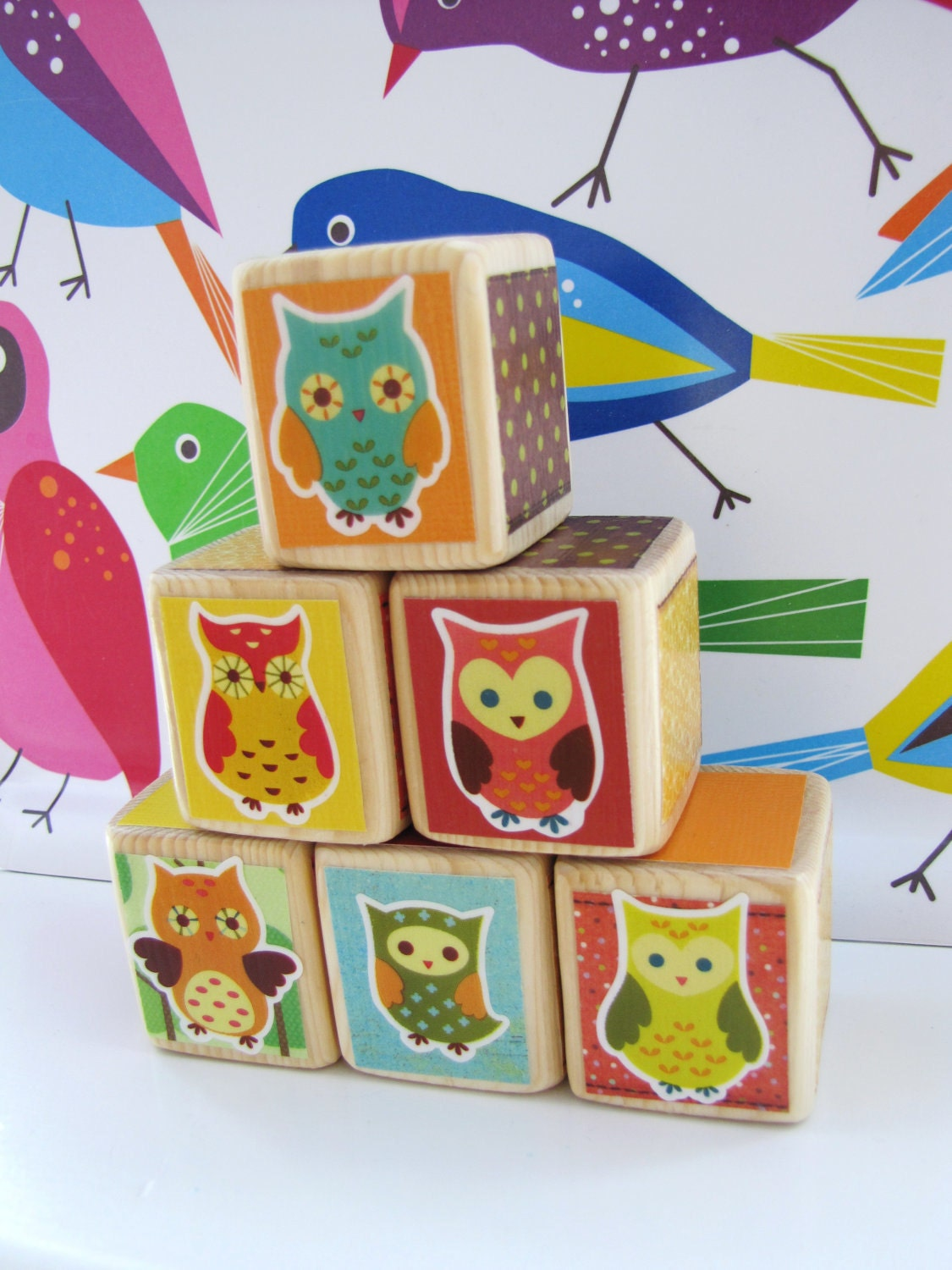 Owl nursery decor baby shower decoration by miabooo on etsy for Baby owl decoration