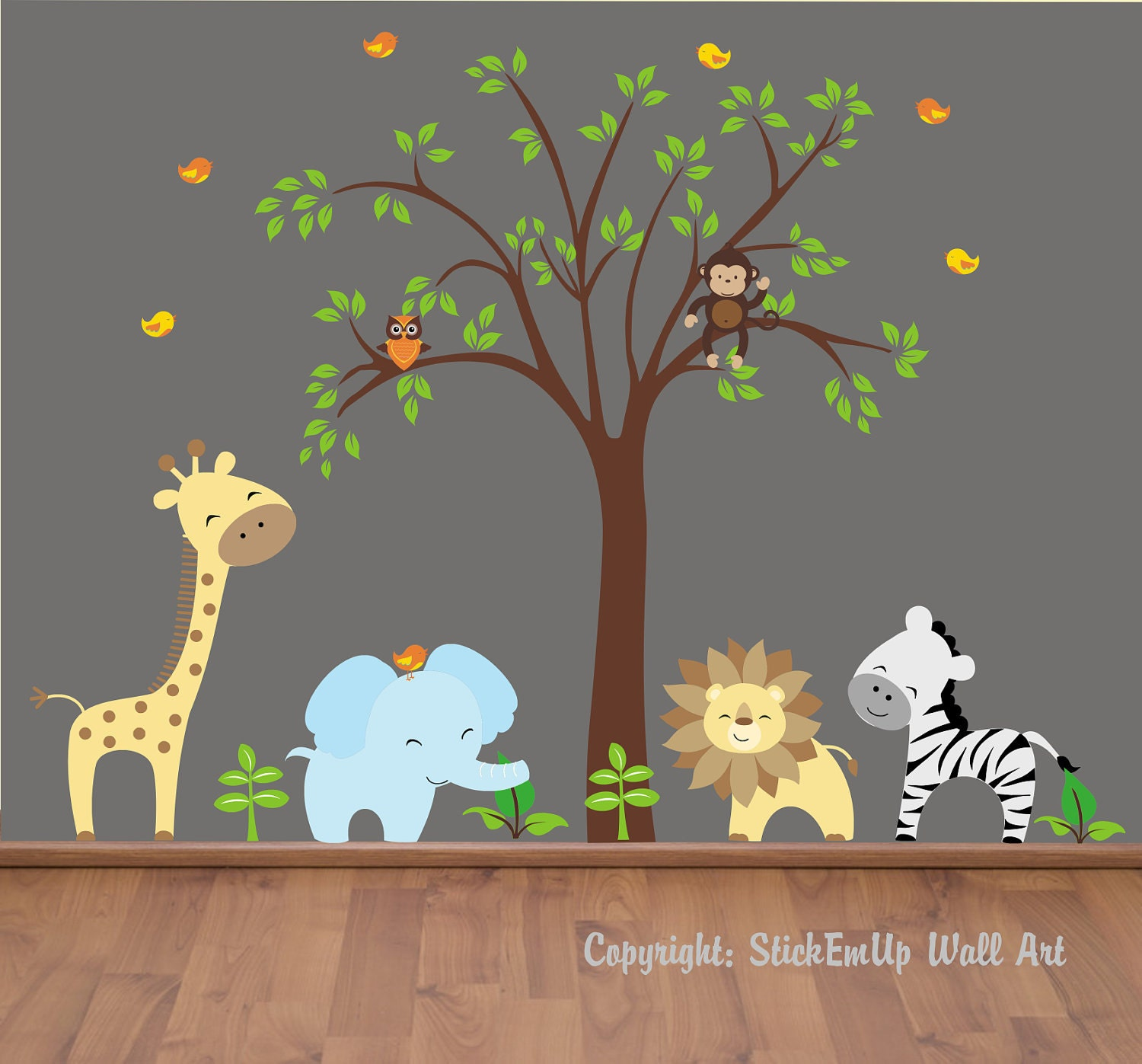 Popular items for wall decals nursery on Etsy