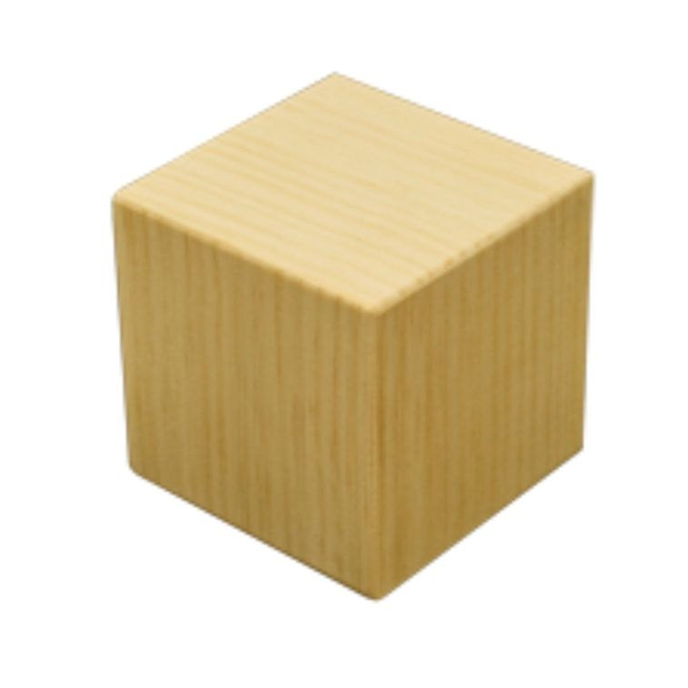DIY 4x4 Unfinished Wood Pine Memory Cube Set Of 6 By Knottingwood