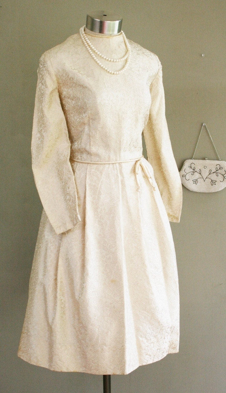 Happily ever after 1950s short wedding dress by callmechula for Ever after wedding dress