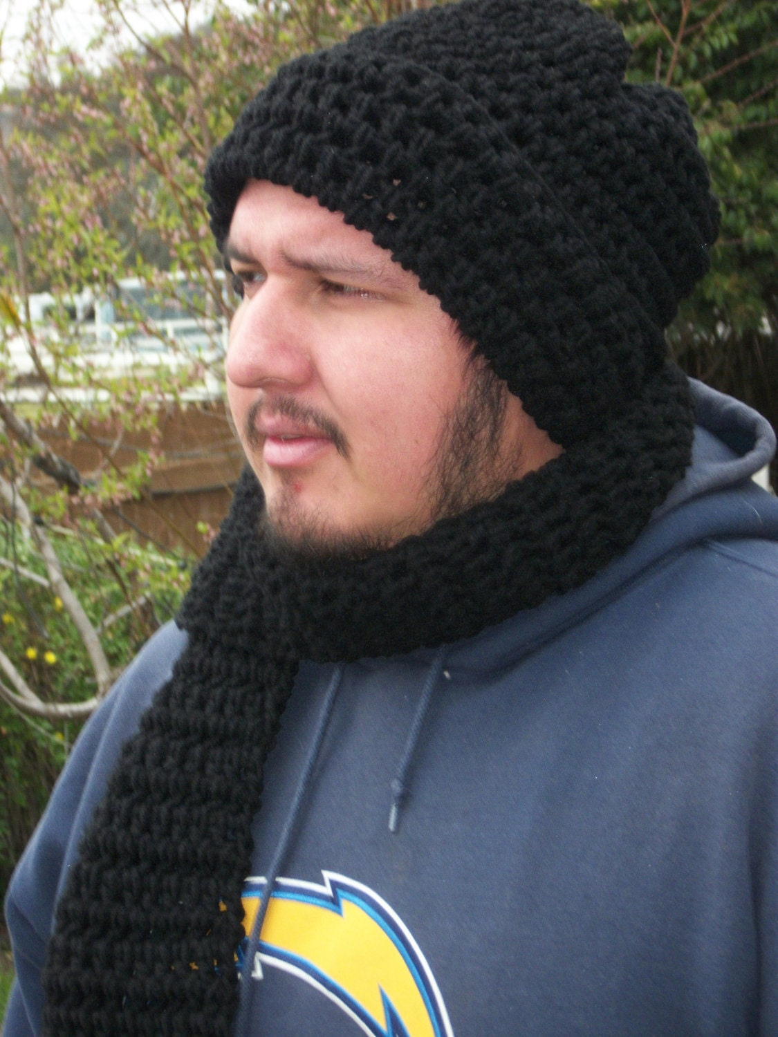 Mens Crochet Hat & Scarf by DRCrafts on Etsy Crochet Scarves And Hats