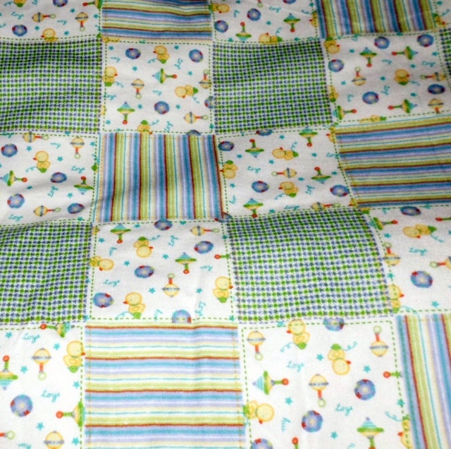 Square baby print cotton flannel fabric sold by for Children s flannel fabric by the yard