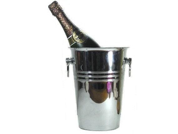 Vintage champagne bucket Ice bucket wedding - lefrenchshop