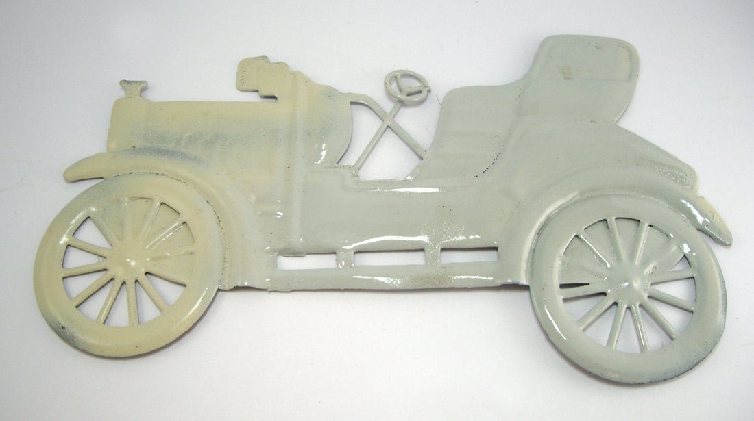 Car Enthusiast Model T Runabout  Metal Wall Hanging,  Car Collector, Man Cave Decor, Automotive