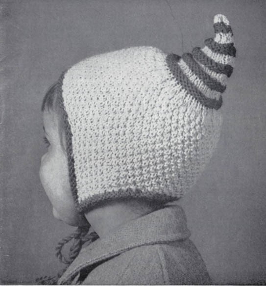 Knitting Pattern For Dwarf Hat : Pixie Gnome Dwarf Hat Knitting Pattern for by ...