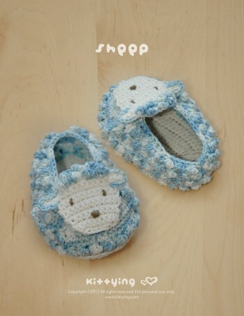 Crochet Pattern Sheep Earmuffs - With Tutorial