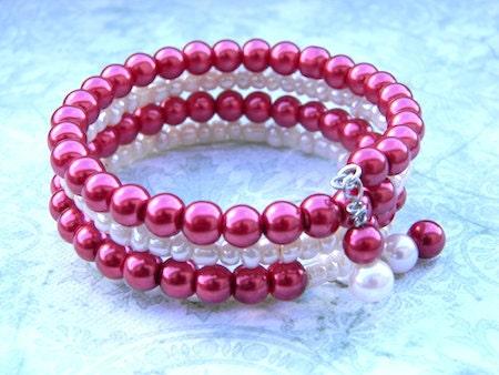 Velvet Cream Bracelet - OrinStyles