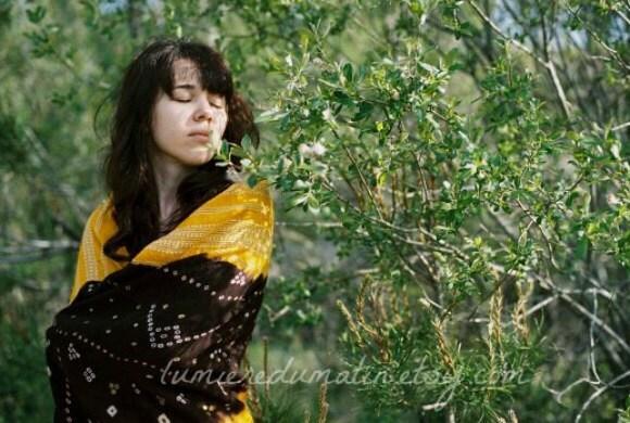 SALES Forest girl film photograph -  Forest girl - fine art film print 8 x 12 - LumiereDuMatin