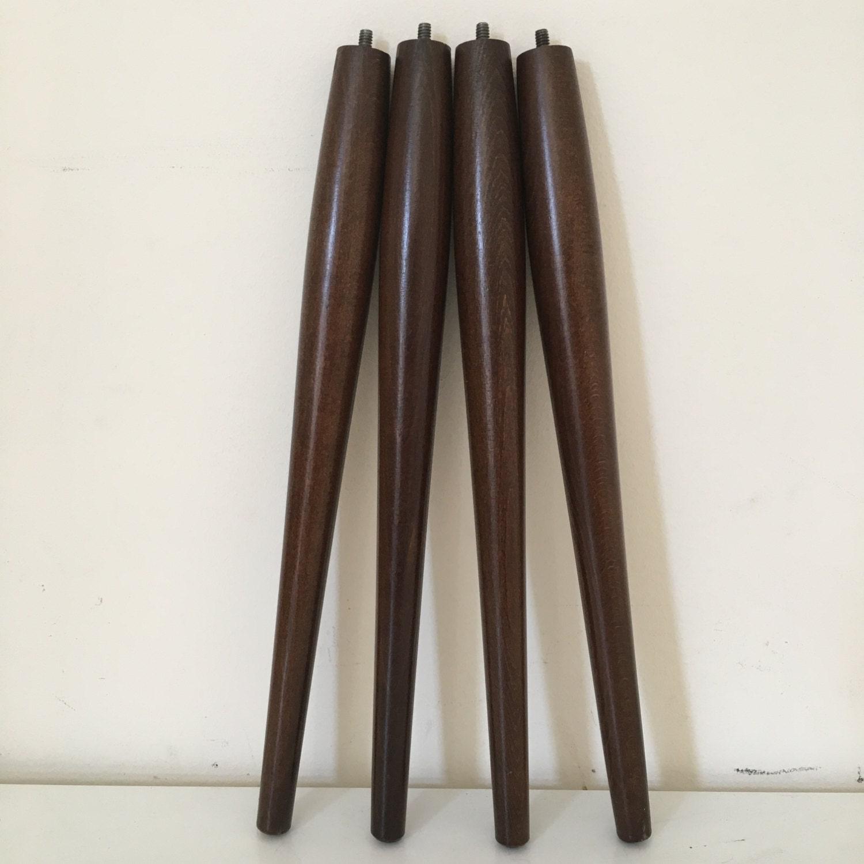 Il Fullxfull Mid Century Modern Furniture Legs Original Tapered Walnut