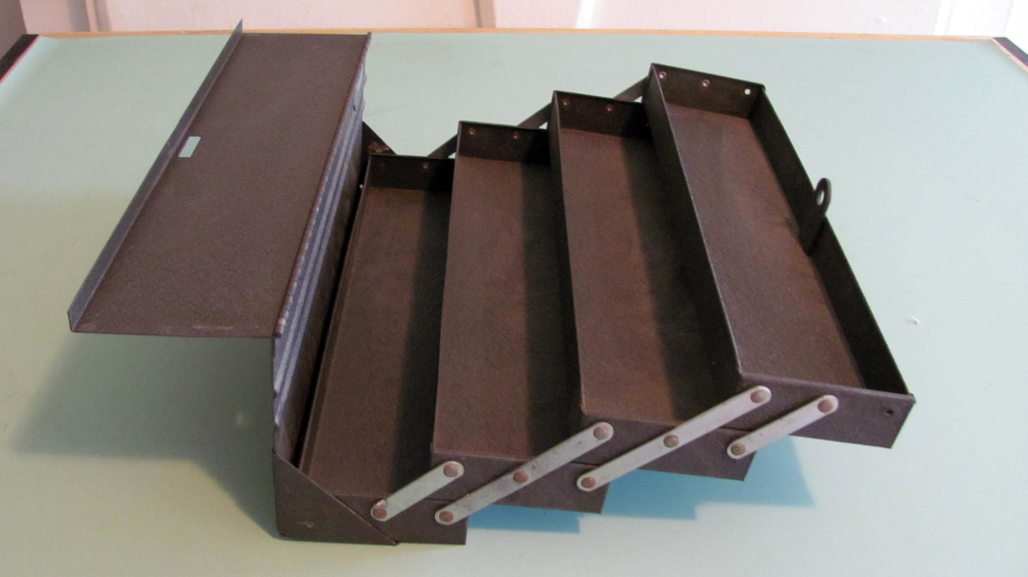 kennedy cantilever tool box. check out this mini kennedy machinist box - storage solutions the garage gazette cantilever tool y
