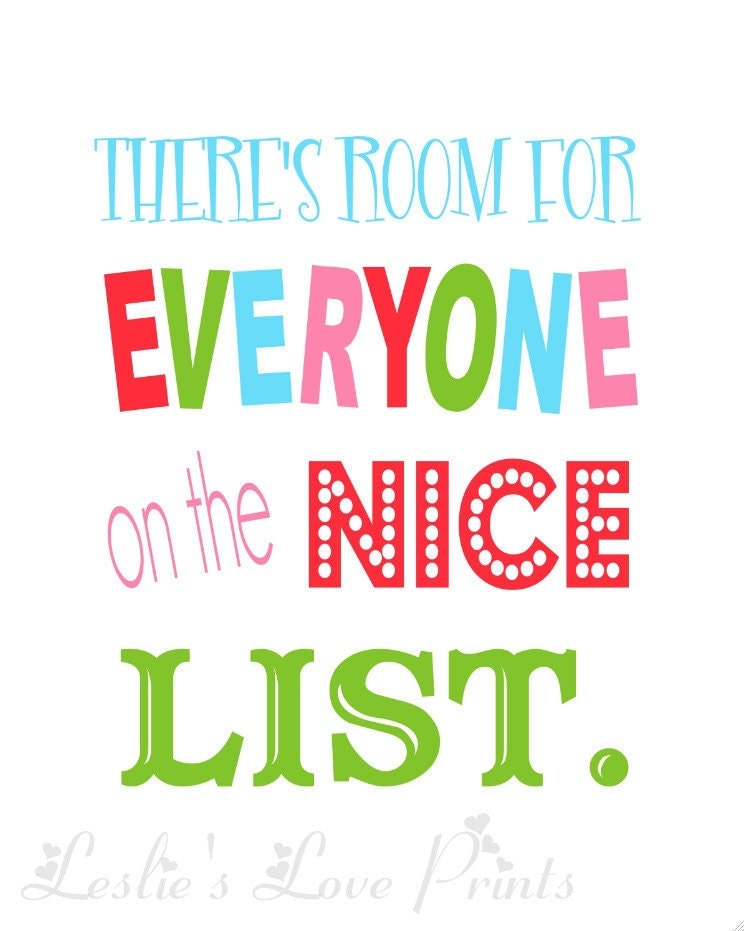 Items Similar To There S Room For Everyone On The Nice