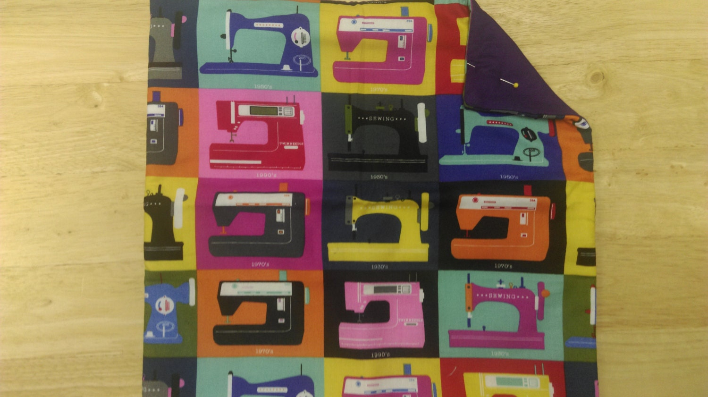 Retro Sewing Machines Cushion Cover