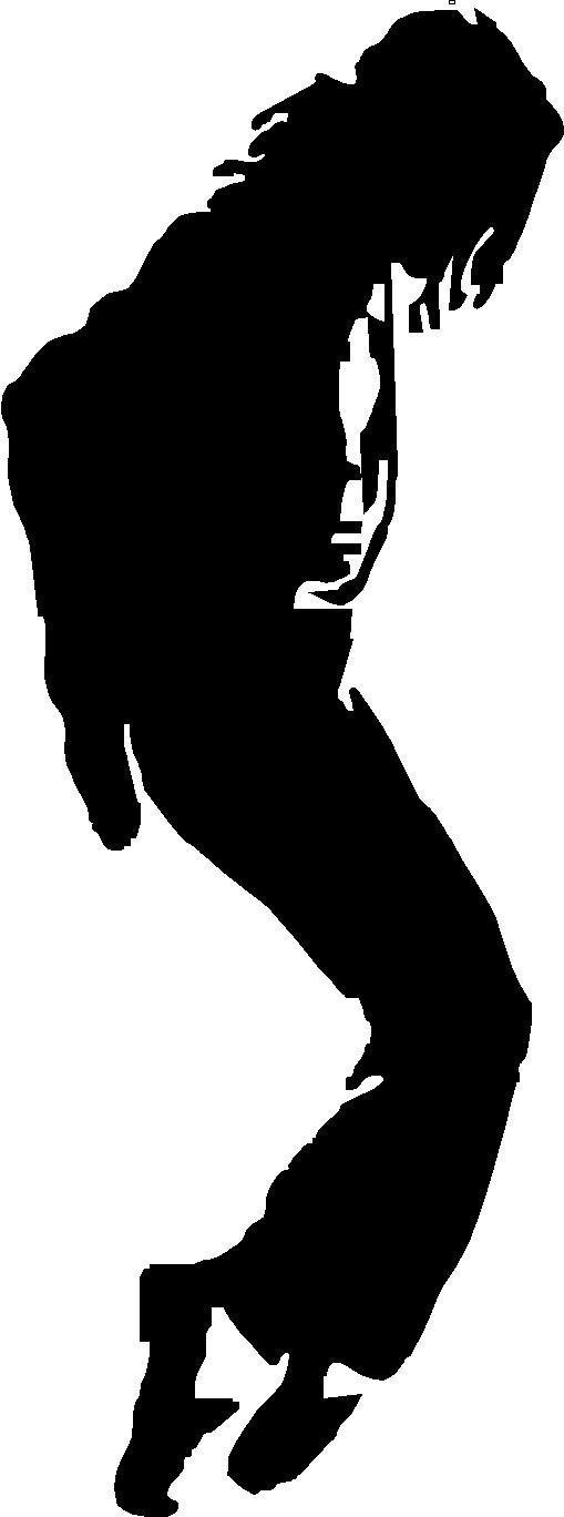 Items similar to Michael Jackson silhouette sm.....vinyl ...