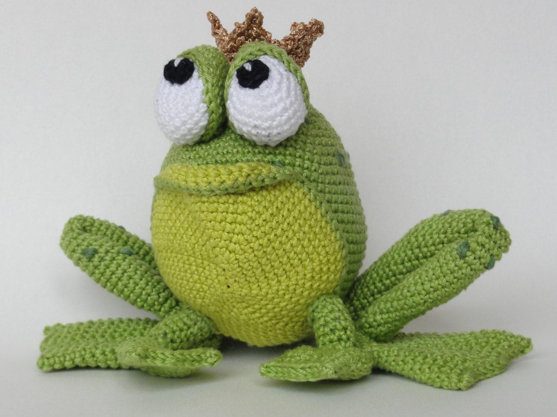 Вязание крючком амигуруми лягушка