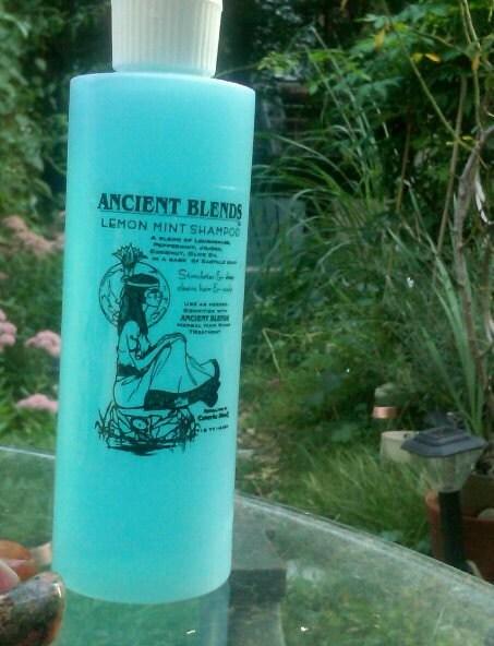 Ancient Blends Lemon/Mint Cleansing/Stimulating Shampoo