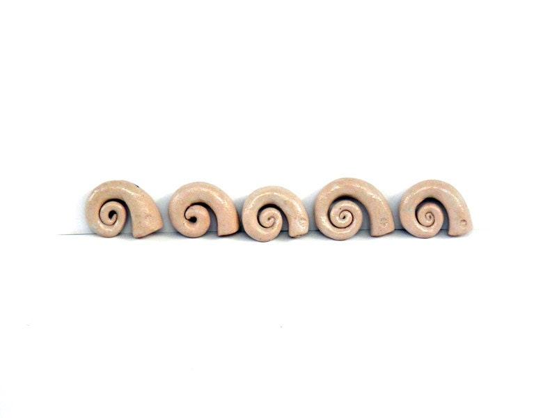 Ceramic snail shell  ornaments - ceramic home décor -desk accessories - 99heads