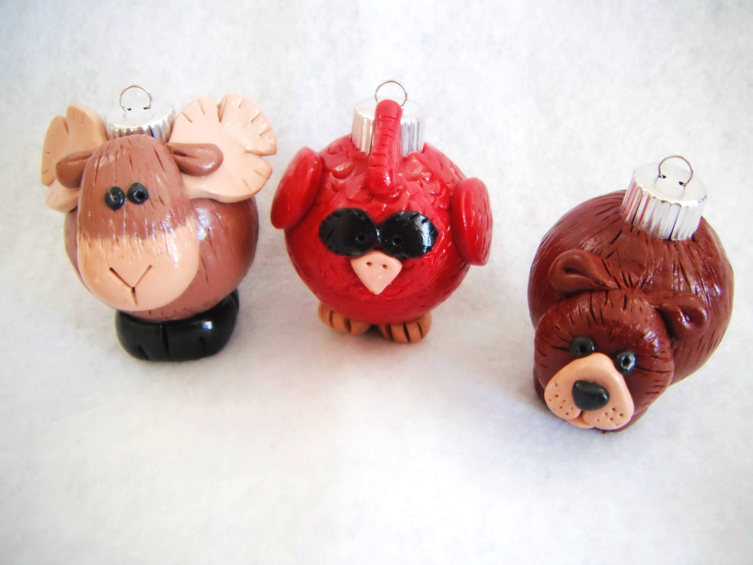 Animals For Christmas Ornaments