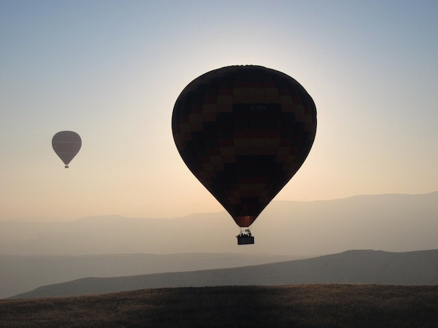 Hot Air Balloon Eclipse 8x10 - OnePhotoOneMoment