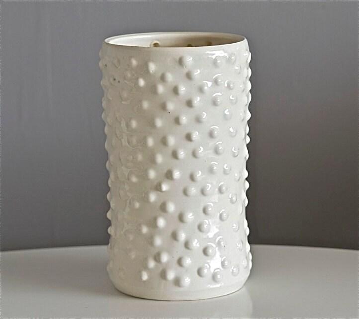 Dappled Vase, handmade