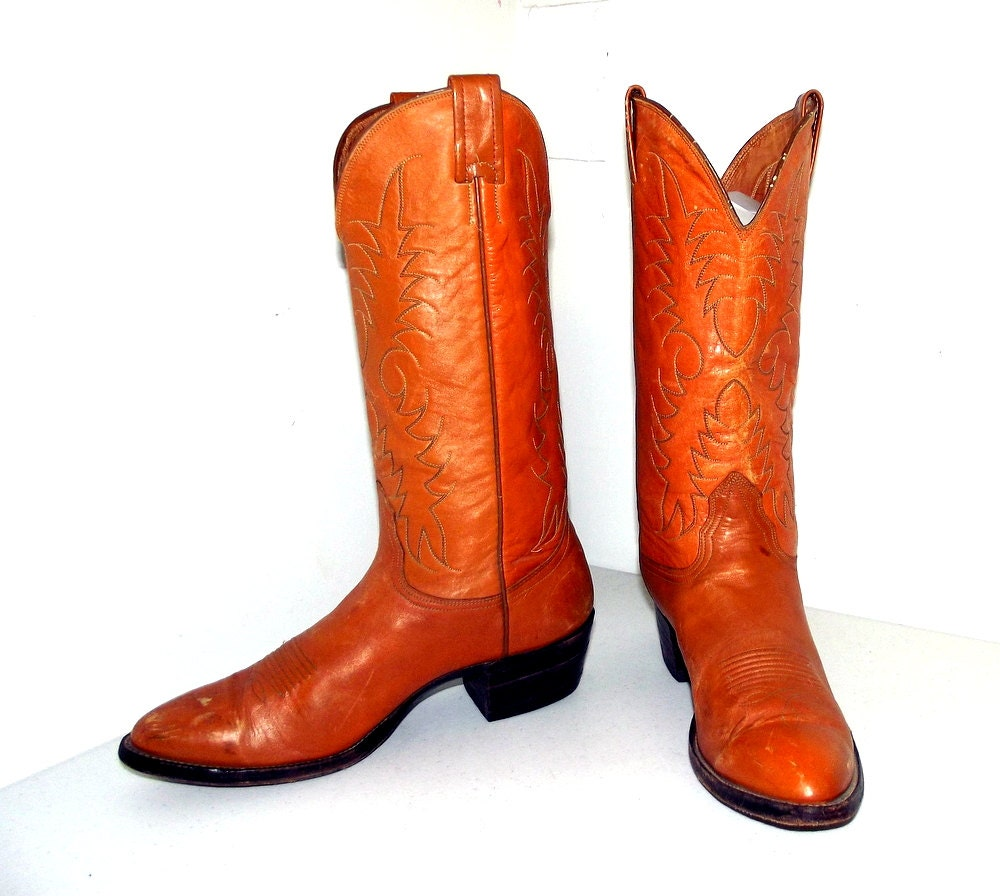 nocona brand cowboy boots size 9 d or by honeyblossomstudio