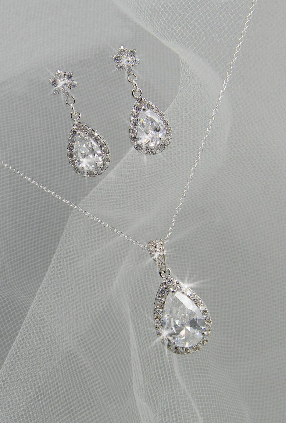 bridal set bridesmaids jewelry set by crystalavenues