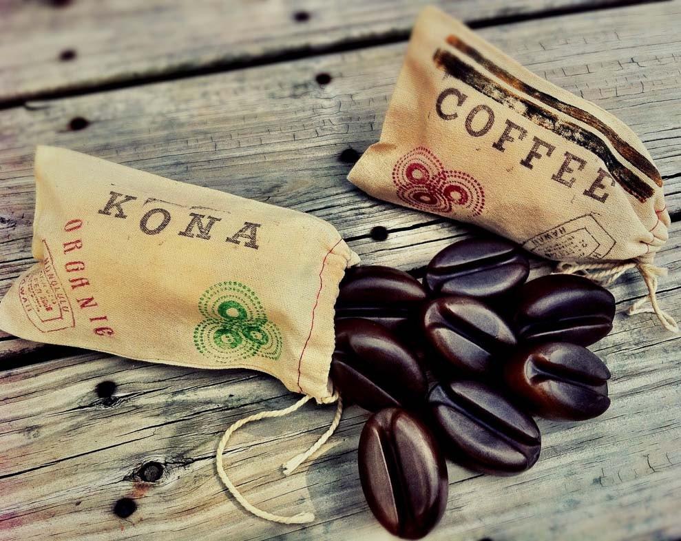 Handmade Coffee Bean Soap - Glycerin soap