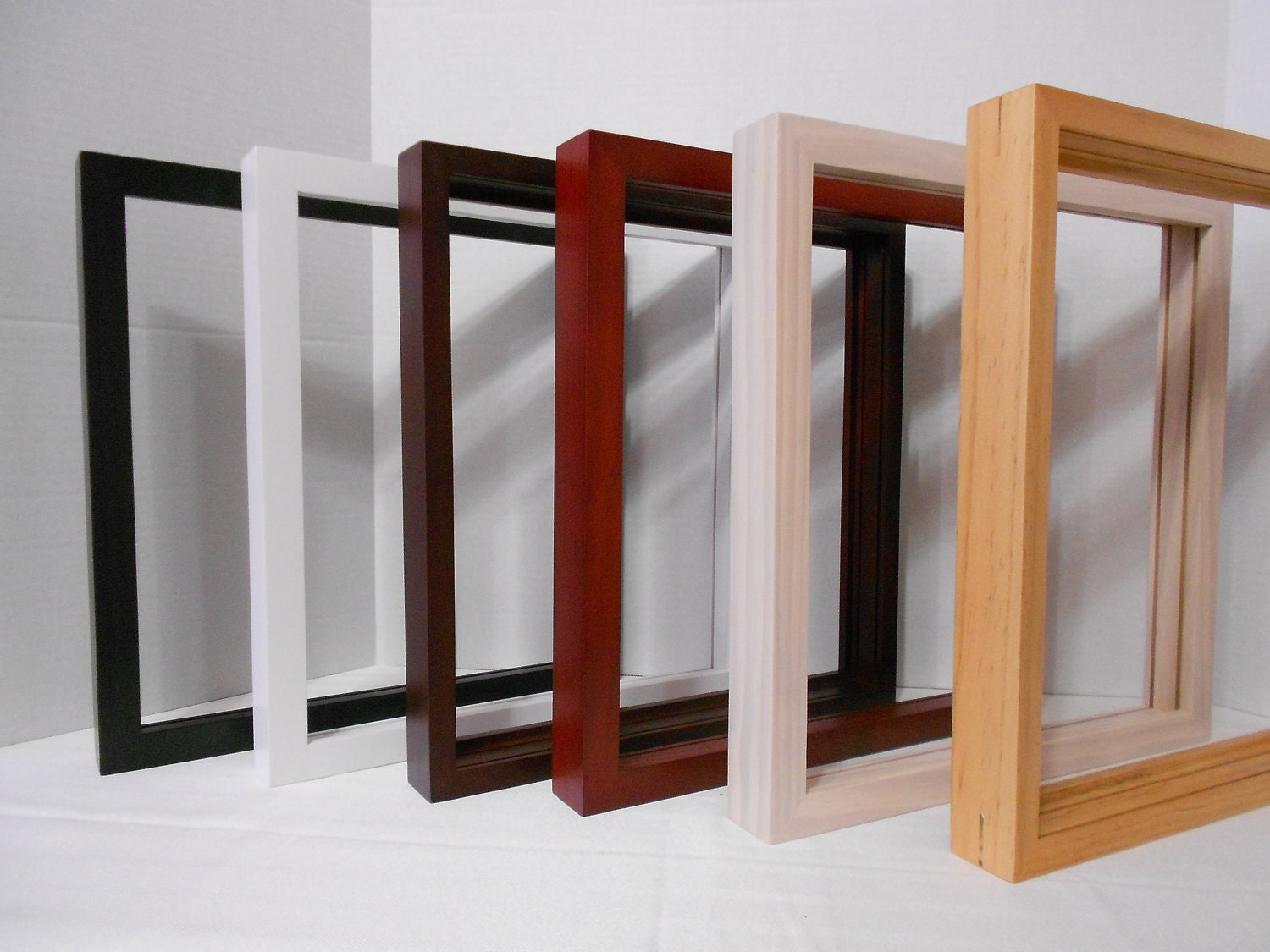 Wood Box Frame : Gallery Wood Shadow Box Frame with Veneer Finish by theshadowbox