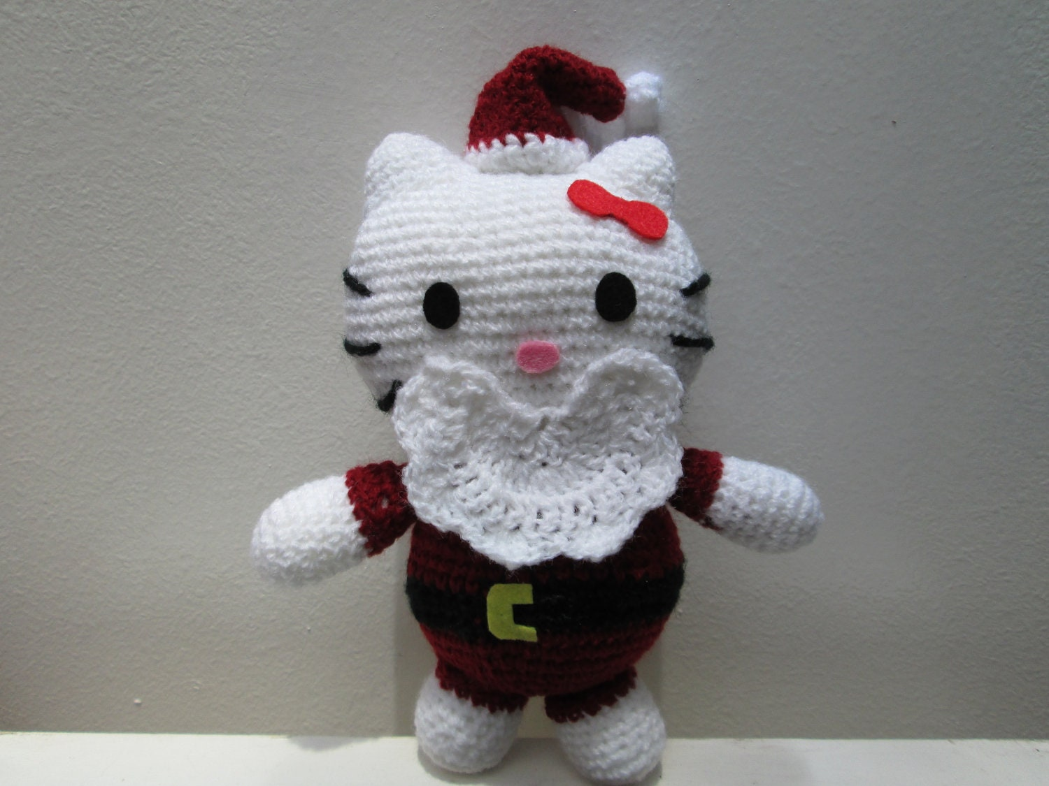 Items similar to PDF Amigurumi Tutorial Christmas Hello ...