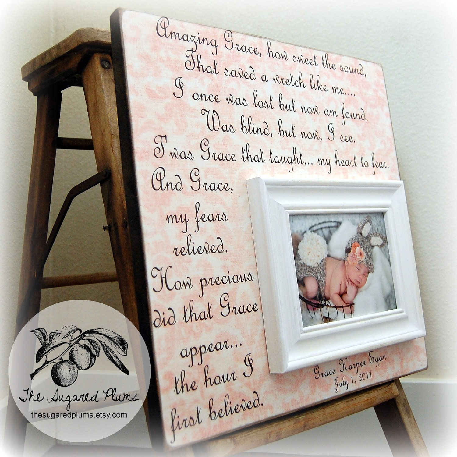 Wedding Gift Ideas For Sister From Brother : ... Amazing Grace, birthday gift, siblings, brother, sister, quote, poem