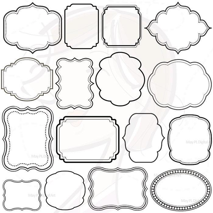 Free Digital Frames Clip Art