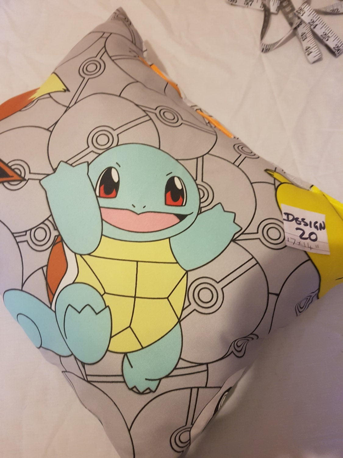 Kids pokemon filled cushions size 17 x 14 great gift idea