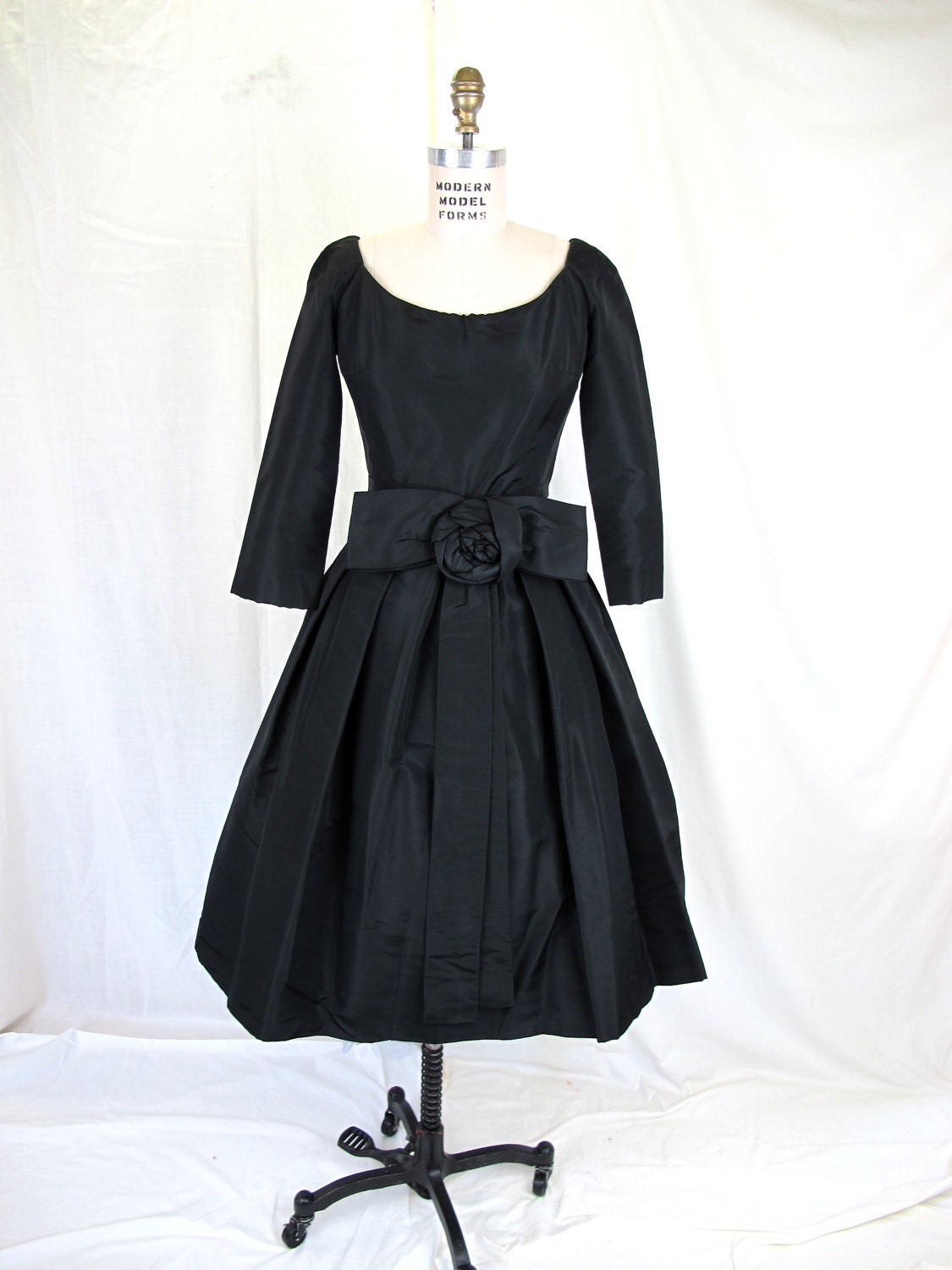 On Hold ...1950's Vintage Christian Dior Dress by tovasvintage