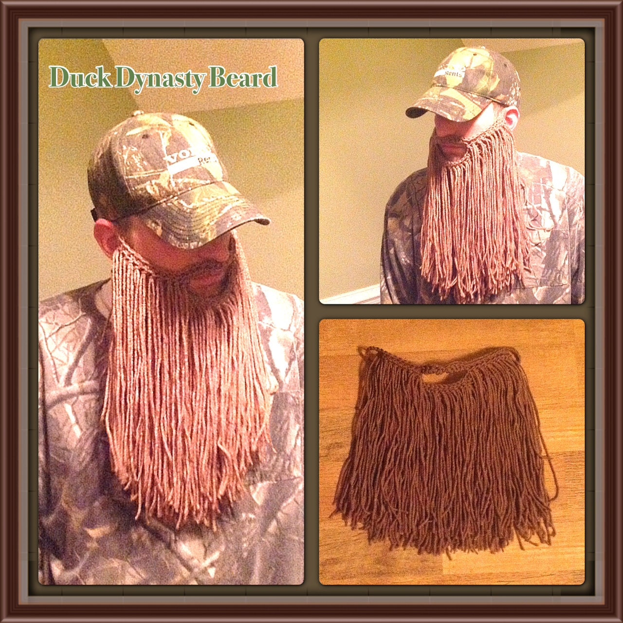 Duck Dynasty Crochet Beard Pattern