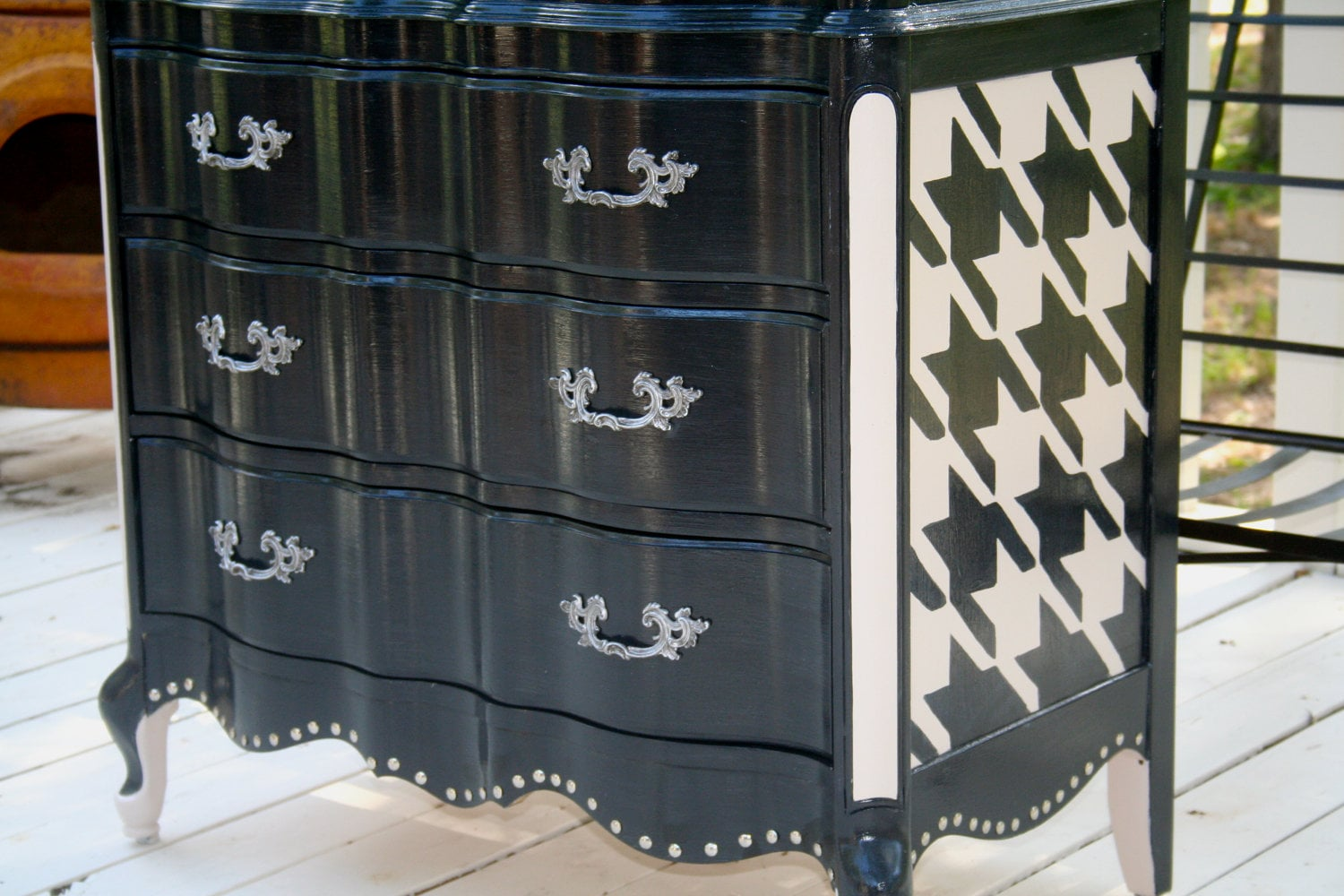 Custom Painted Made to Order Vintage French Chest of Drawer Dresser