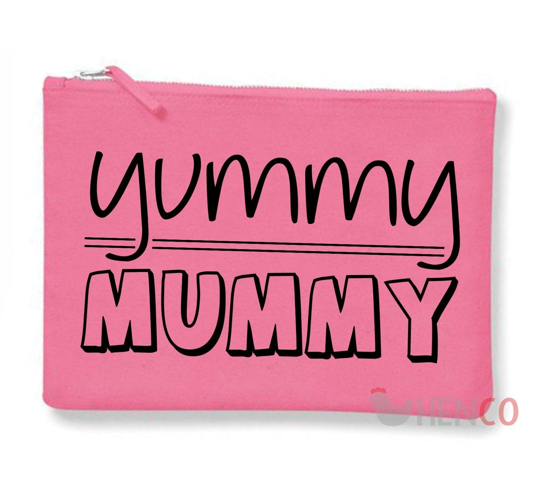 Yummy Mummy MakeUp Bag Yummy Mummy Makeup Bag Yummy Mummy Bag Yummy Mummy Quote Mummy Gift Mummy Stocking Filler Mummy Christmas Gift