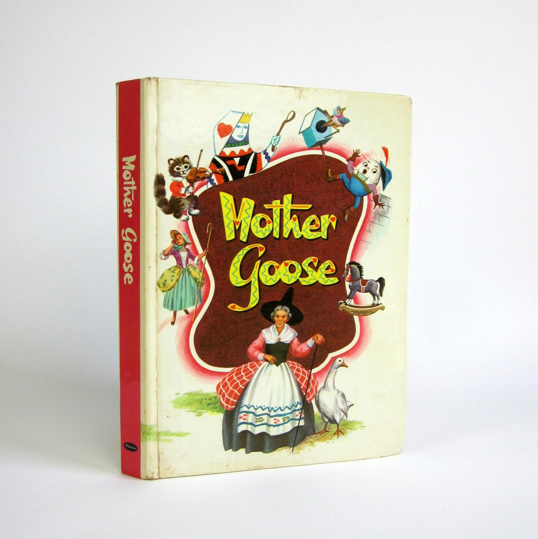 Whitman's Mother Goose 1953 / The Complete Book of Nursery Rhymes - OopseeDaisies