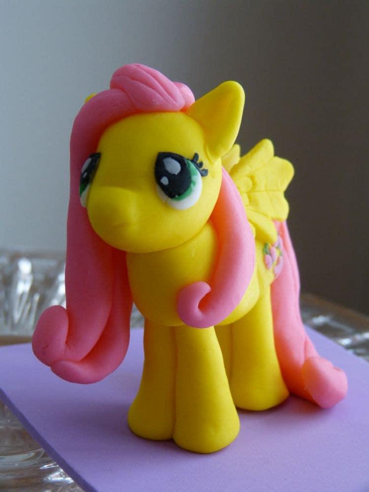 Fluttershy Cake Topper