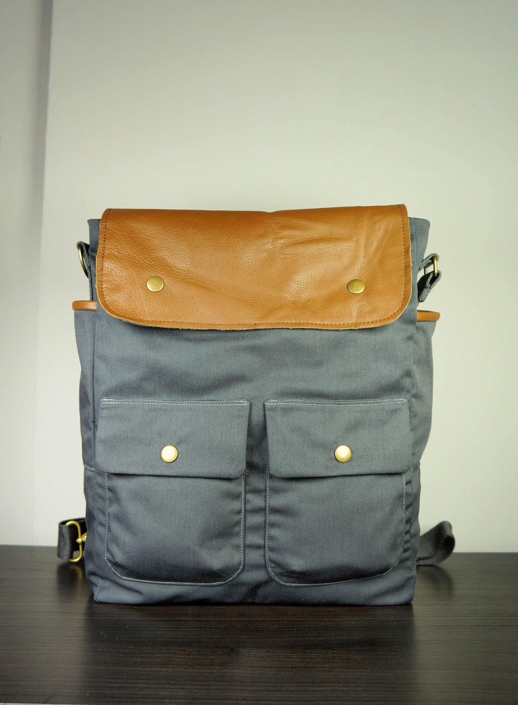 ... /Shoulder Bag/ Tan leather/ Multi-function/ Back To School/ New York