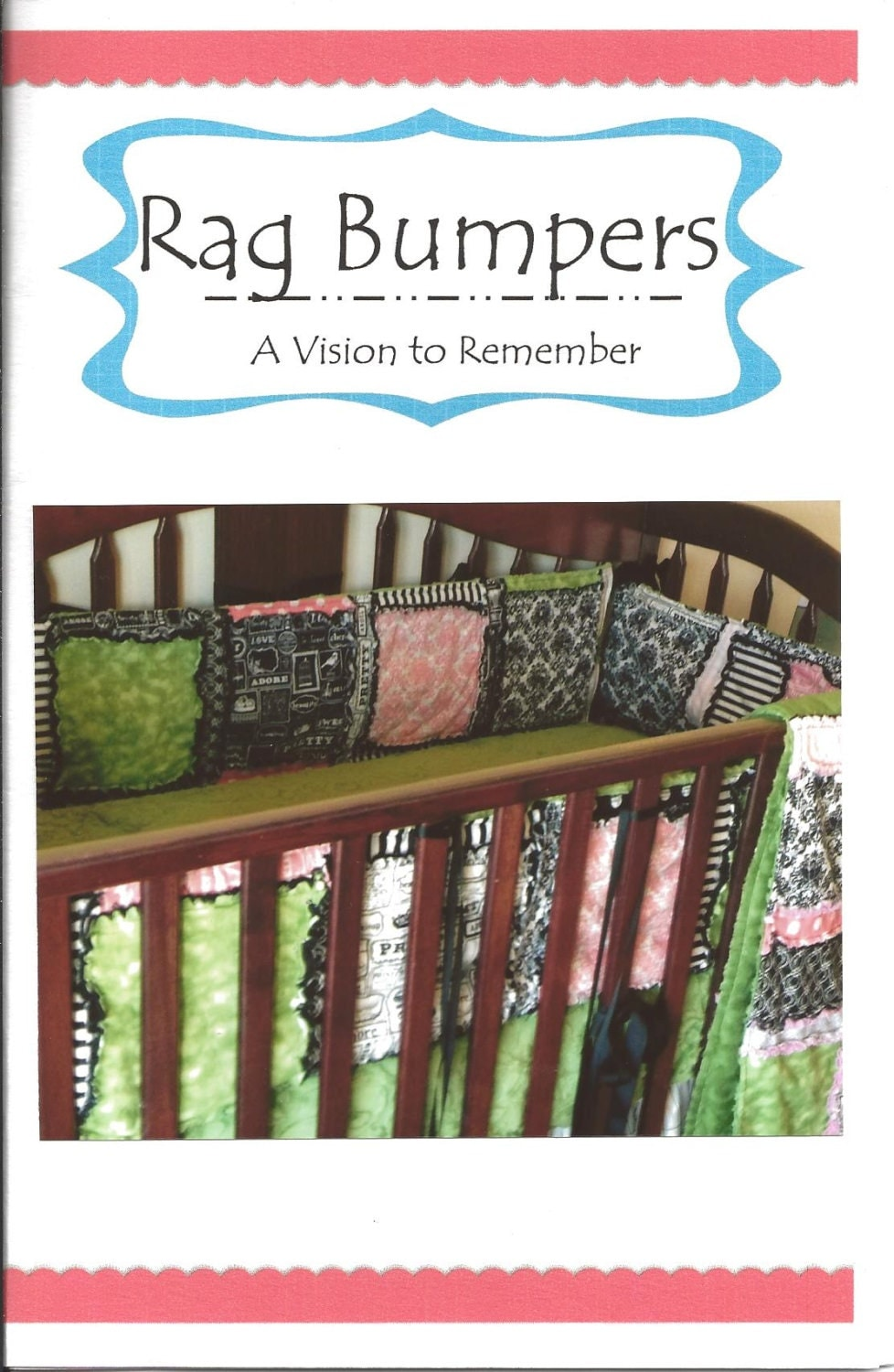 Crib Baby Bumpers SEWING PATTERN Rag Quilt by ...