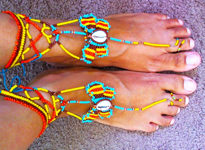 Azteka Barefoot Sandals