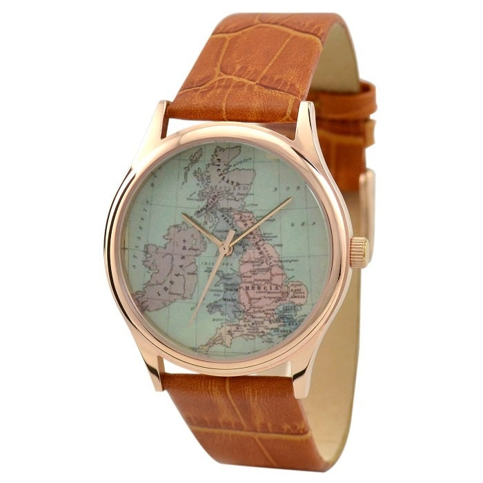 Watchet United Kingdom  city pictures gallery : Vintage Map Watch United Kingdom