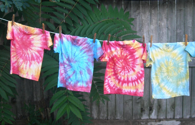 Tie Dye Tshirt, Preschool Toddler, Size 2 - barefootprincessita
